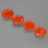 thumb image of 3.7ct Oval Facet Orange Fire Opal (ID: 454034)