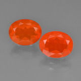 thumb image of 2.5ct Oval Facet Orange Fire Opal (ID: 454168)