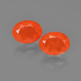 thumb image of 1.6ct Oval Facet Orange Fire Opal (ID: 454176)