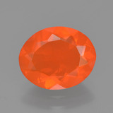 thumb image of 1.2ct Oval Facet Orange Fire Opal (ID: 454353)