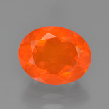 thumb image of 1.9ct Oval Facet Orange Fire Opal (ID: 454358)
