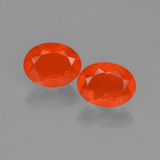 thumb image of 1.4ct Oval Facet Orange Fire Opal (ID: 454423)