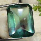 thumb image of 36.1ct Octagon Cabochon Bluish Green Fluorite (ID: 472704)