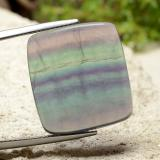 thumb image of 25ct Cushion Cabochon Multicolor Fluorite (ID: 486402)