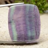 thumb image of 46.3ct Cushion Cabochon Multicolor Fluorite (ID: 486403)