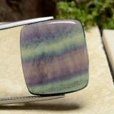 thumb image of 30.3ct Cushion Cabochon Multicolor Fluorite (ID: 486463)