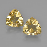 thumb image of 2.8ct Trillion Facet Yellow Golden Beryl (ID: 360526)