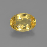 thumb image of 1.8ct Oval Facet Yellow Golden Beryl (ID: 362009)