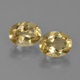 thumb image of 3.7ct Oval Facet Yellow Golden Beryl (ID: 362110)