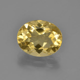thumb image of 2.6ct Oval Facet Yellow Golden Beryl (ID: 371301)