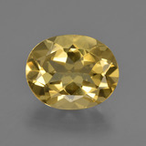 thumb image of 4.2ct Oval Facet Yellow Golden Golden Beryl (ID: 422700)