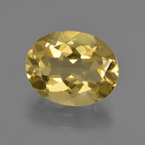 thumb image of 4.1ct Oval Facet Yellow Golden Golden Beryl (ID: 422702)
