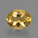 thumb image of 3.1ct Oval Facet Yellow Golden Golden Beryl (ID: 422711)