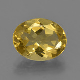 thumb image of 2.7ct Oval Facet Yellow Golden Golden Beryl (ID: 422718)