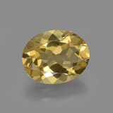 thumb image of 2.2ct Oval Facet Yellow Golden Golden Beryl (ID: 422761)