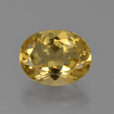 thumb image of 2.3ct Oval Facet Yellow Golden Golden Beryl (ID: 422775)