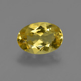 thumb image of 1.7ct Oval Facet Yellow Golden Golden Beryl (ID: 422837)