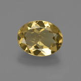 thumb image of 1.9ct Oval Facet Yellow Golden Golden Beryl (ID: 422843)