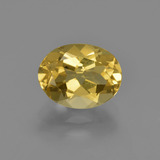 thumb image of 2ct Oval Facet Yellow Golden Golden Beryl (ID: 422844)