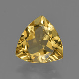 thumb image of 2ct Trillion Facet Yellow Golden Golden Beryl (ID: 422897)