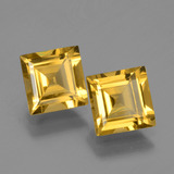 thumb image of 2.9ct Square Facet Yellow Golden Golden Beryl (ID: 436006)