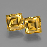 thumb image of 3.6ct Square Facet Yellow Golden Golden Beryl (ID: 436007)
