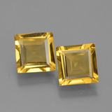thumb image of 2.5ct Square Facet Yellow Golden Golden Beryl (ID: 436012)