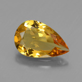 thumb image of 2.1ct Pear Facet Yellow Golden Golden Beryl (ID: 436179)
