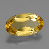thumb image of 2.3ct Oval Facet Yellow Golden Golden Beryl (ID: 436303)
