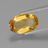 thumb image of 1.9ct Oval Facet Yellow Golden Golden Beryl (ID: 436323)