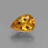 thumb image of 1ct Pear Facet Yellow Golden Golden Beryl (ID: 436367)