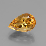thumb image of 2.3ct Pear Facet Yellow Golden Golden Beryl (ID: 436368)
