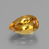 thumb image of 2.2ct Pear Facet Yellow Golden Golden Beryl (ID: 436375)