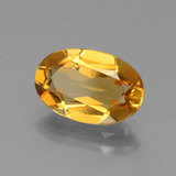 2.18 ct Oval Facet Yellow Golden Golden Beryl Gem 11.12 mm x 7.4 mm (Photo B)