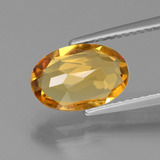 2.18 ct Oval Facet Yellow Golden Golden Beryl Gem 11.12 mm x 7.4 mm (Photo C)