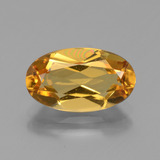 thumb image of 2.5ct Oval Facet Yellow Golden Golden Beryl (ID: 436422)