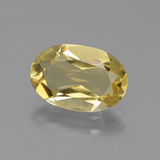 thumb image of 2ct Oval Facet Yellow Golden Golden Beryl (ID: 436423)
