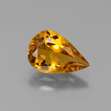 thumb image of 1.4ct Pear Facet Yellow Golden Golden Beryl (ID: 436424)