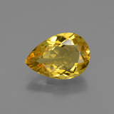thumb image of 1.6ct Pear Facet Yellow Golden Golden Beryl (ID: 436468)