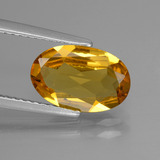 thumb image of 1.7ct Oval Facet Yellow Golden Golden Beryl (ID: 436502)
