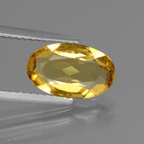thumb image of 1.7ct Oval Facet Yellow Golden Golden Beryl (ID: 436508)