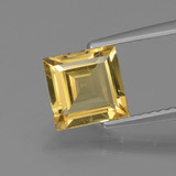 thumb image of 1.3ct Square Facet Yellow Golden Golden Beryl (ID: 436543)