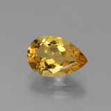 thumb image of 1.5ct Pear Facet Yellow Golden Golden Beryl (ID: 436582)