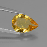 thumb image of 1.2ct Pear Facet Yellow Golden Golden Beryl (ID: 436583)