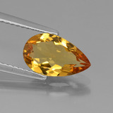 thumb image of 1.4ct Pear Facet Yellow Golden Golden Beryl (ID: 436587)