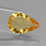 thumb image of 1.9ct Pear Facet Yellow Golden Golden Beryl (ID: 436588)