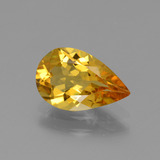 thumb image of 1.5ct Pear Facet Yellow Golden Golden Beryl (ID: 436590)