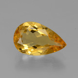thumb image of 1.7ct Pear Facet Yellow Golden Golden Beryl (ID: 436636)