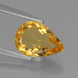 thumb image of 1.6ct Pear Facet Yellow Golden Golden Beryl (ID: 436637)