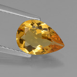 thumb image of 1.4ct Pear Facet Yellow Golden Golden Beryl (ID: 436638)